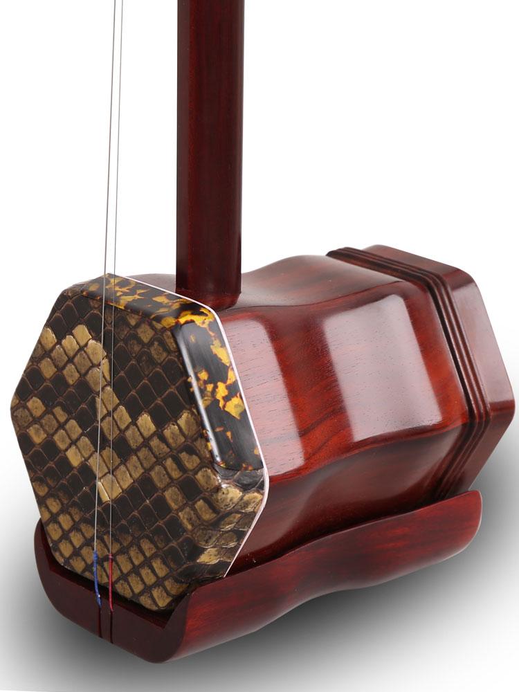 致雅小叶紫檀二胡乐器纯手工苏州二胡大人演奏专业考级通用胡琴