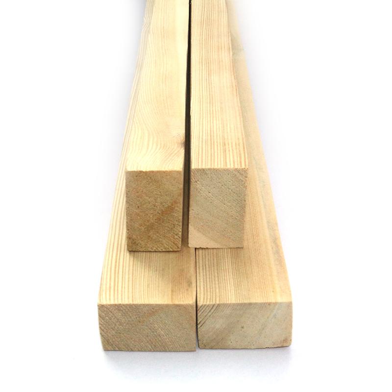 德丽斯25*40落叶松烘干地板龙骨DIY实木木方家装工装吊顶木龙骨
