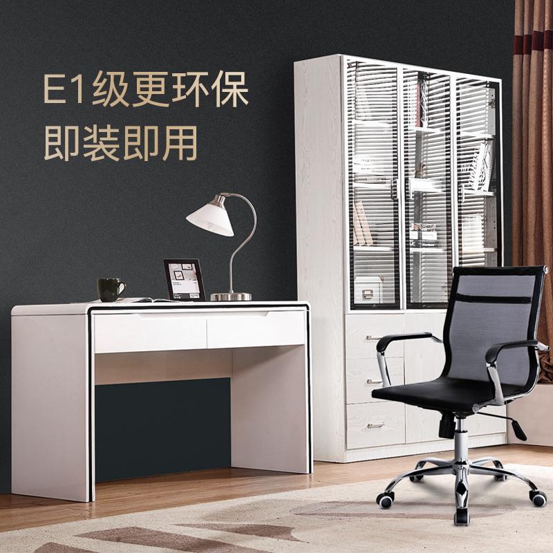 书柜现代简约客厅书房书柜书橱玻璃书柜组合置物柜储物柜带门书柜