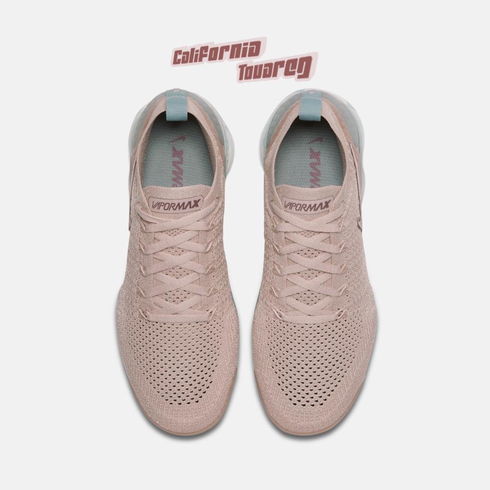 NIKE AIR VAPORMAX 2 2019新款女鞋裸粉色大气垫跑步鞋942843-203