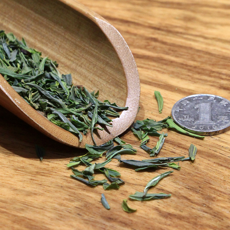 500g 新茶绿茶开化龙顶茶叶粗茶瓜片清醇香高山春茶片 2018 雀舌茶叶
