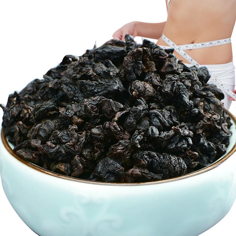 乌龙茶 浓香型 茶叶 黑乌龙 油切 木炭技法 黑乌龙茶 3 送 1 买