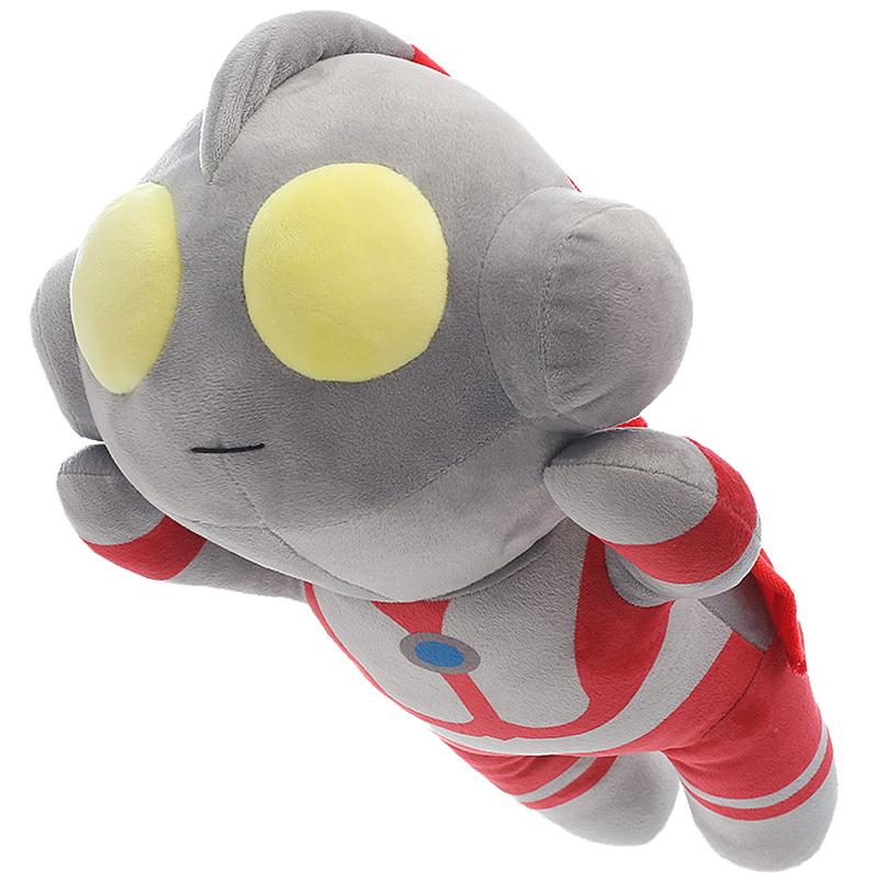 奥特曼玩偶公仔毛绒大抱枕可爱超人床上睡觉抱布娃娃儿童男孩玩具
