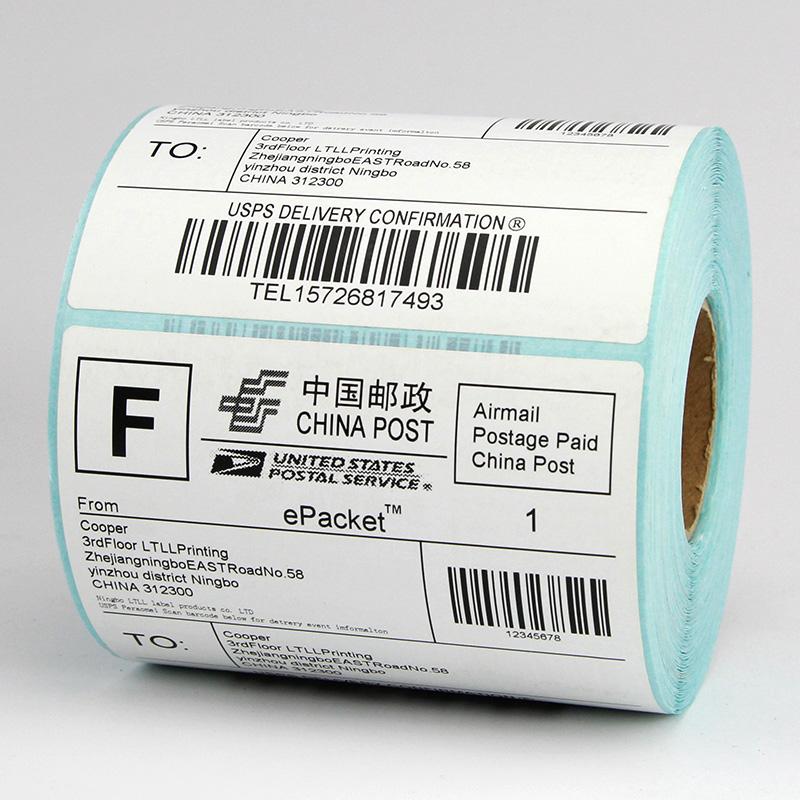 三防热敏标签纸100X100*80 90 70 60 50 40 30条码打印机E邮宝快递不干胶空白贴纸卷120 150 180 200 102 152