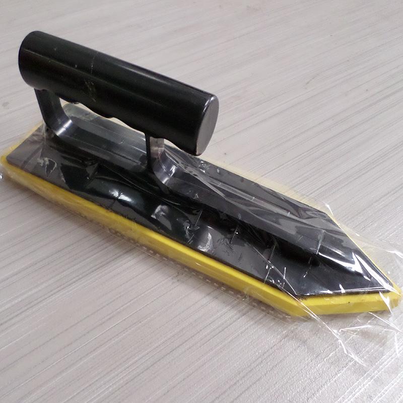 奥廷特马赛克铺贴用工具 带齿刀抹泥刮刀镘刀填缝板擦海绵刀