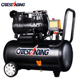 Air pump air compressor small air compressor Otto gas inflatable oil-free silent 220V woodworking paint air pump
