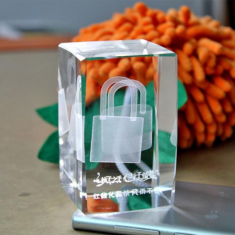 创意七夕圣诞节礼物八音盒水晶女人锁音乐盒女友女生生日特别浪漫