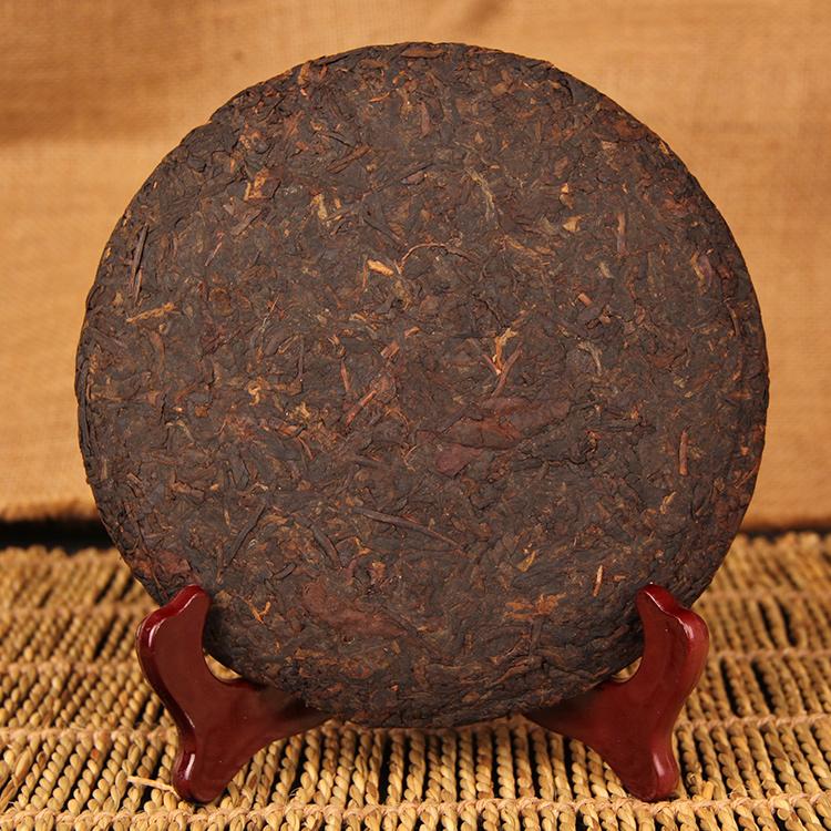 茶饼茶叶 357g 包邮云南普洱茶七子饼茶熟茶八年陈韵普洱熟茶