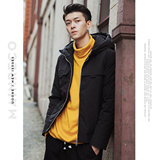 UOOHE men's short down jacket 2019 Korean version of the trend of slim new duck down thick warm jacket
