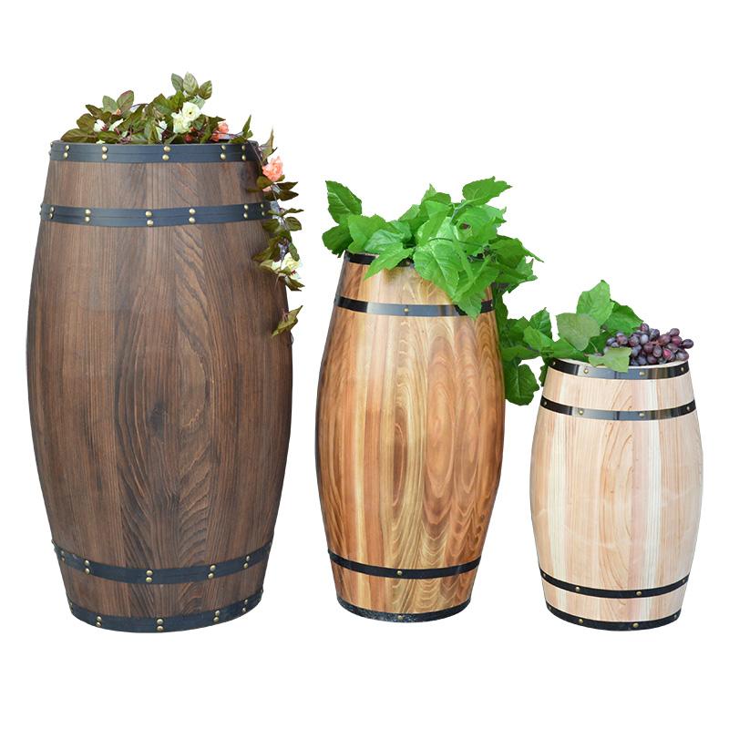 丹香艺啤酒桶橡木桶葡萄酒桶木质红酒桶装饰摆件酒吧婚庆摄影道具
