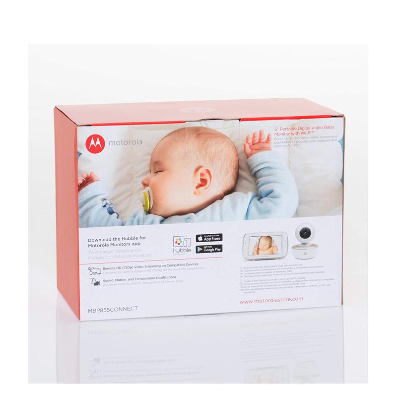 远程宝宝婴儿儿童监护器看护器监视器摩托罗拉Motorola MBP855