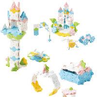 日本LaQ兔子城堡过家家儿童拼装模型玩具女孩5-14岁益智拼插积木 (¥142)