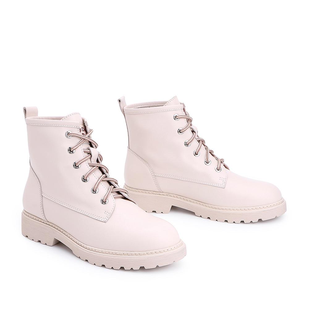 T3R1DDD8 冬新款商场同款牛皮帅气女短靴 2018 百丽马丁靴 Belle
