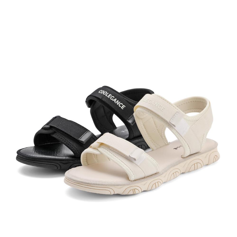 W4L1DBL1 夏新商场同款魔术贴沙滩凉鞋 2021 百丽潮酷厚底凉鞋女
