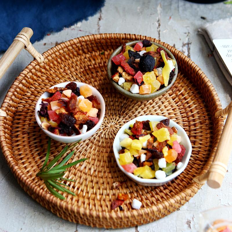 罐装包邮 3 果干粒 果粒茶 洛神花组合 水果茶 花果茶 瓶 3 发 1 拍