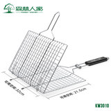 Forest Home BBQ grilled fish grilled fish clip barbecue plywood network home folder tool accessories folder grilled fish net