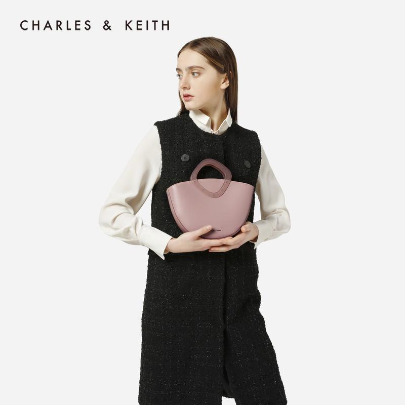 璐彩特菱形手柄饰女士肩包 50150780 CK2 手提包 KEITH & CHARLES