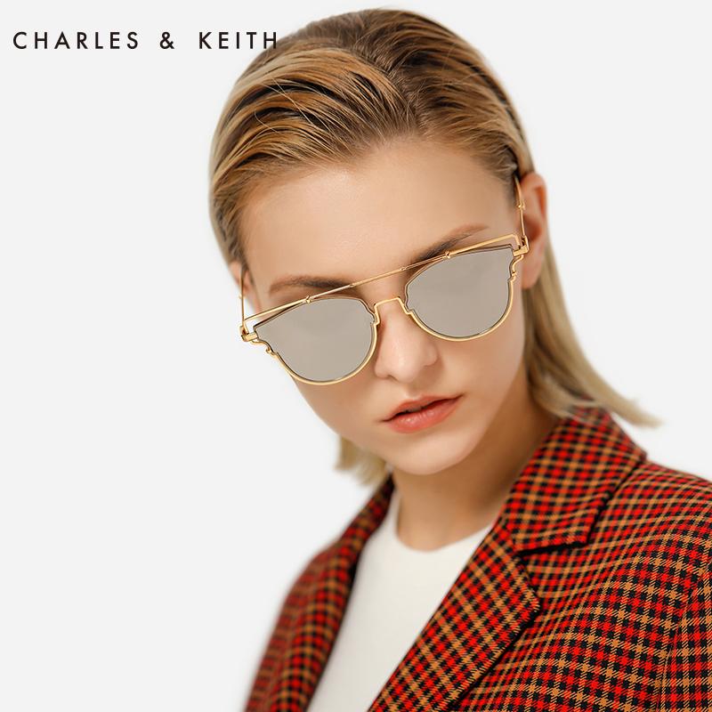金属细边框蝶形女士墨镜 11280345 CK3 太阳镜 KEITH & CHARLES