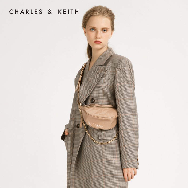 圆环手提单肩腰包斜挎包女 80150844 CK2 秋季 KEITH2019 & CHARLES