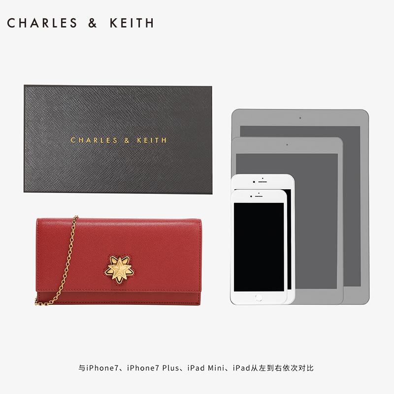 欧美星形锁扣钱包配礼盒 10770280 CK6 长款钱包 KEITH & CHARLES