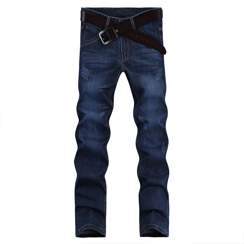 夏季牛仔裤男士宽松春夏薄款直筒长裤休闲裤子男韩版修身潮流百搭