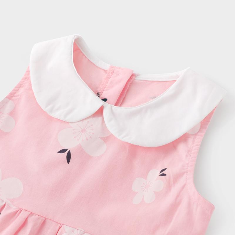 女童连衣裙纯棉夏0-3一5岁婴儿裙子洋气儿童夏装2019女宝宝公主裙
