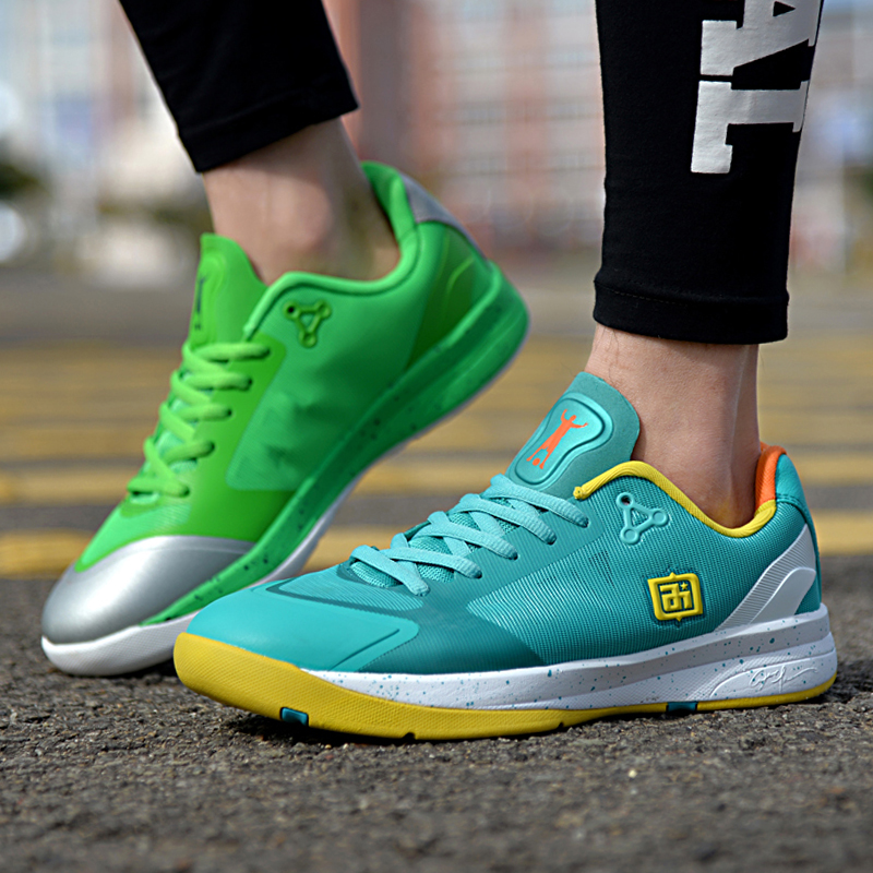 艾弗森籃球鞋鴛鴦搭配休閒低幫男運動鞋減震新款