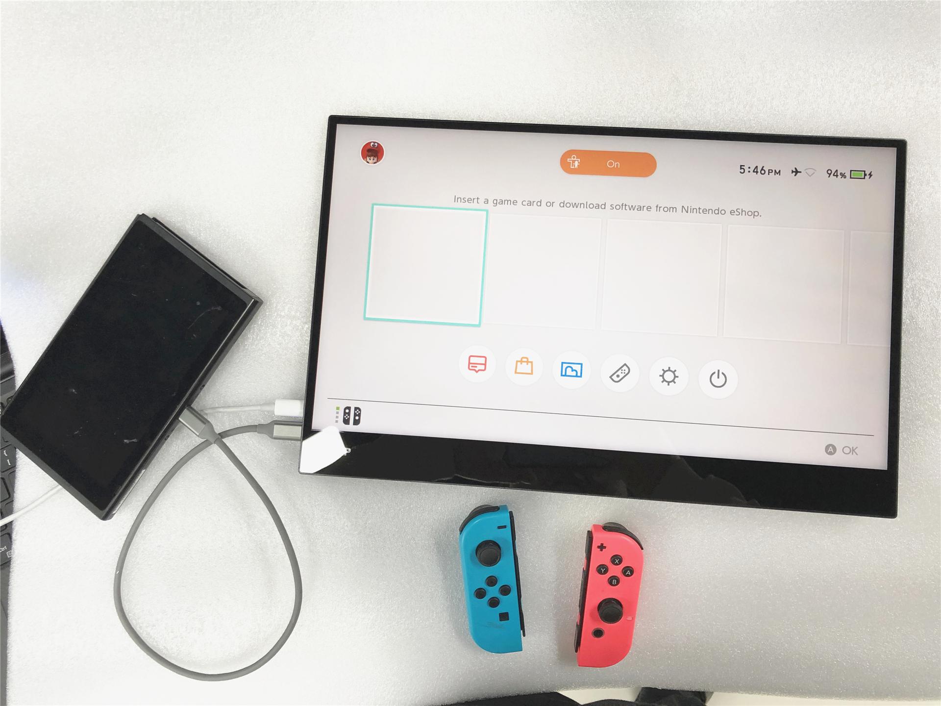 X EQUIP/X装备窄边框15.6寸便携HDMI/ns/PS4XBOx便携屏车载游戏