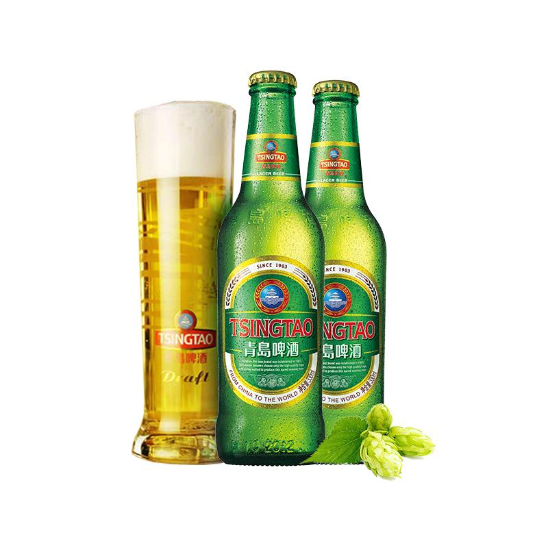 新品上市 瓶箱啤 24 330ml 度 11 青岛啤酒经典