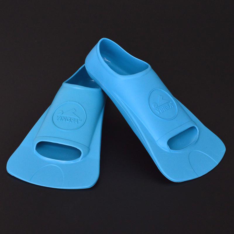 英发脚蹼 成人长脚蹼 儿童装备游泳训练自由泳仰泳橡胶短脚蹼 - 图0