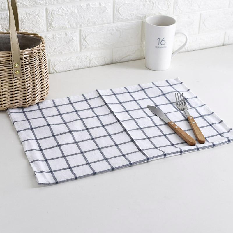3条包邮日式餐巾厨房擦手擦碗巾垫巾隔热垫茶巾盖巾美食拍照道具