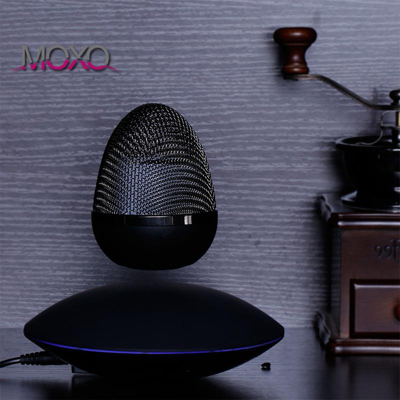 MOXO 磁悬浮蓝牙音箱 无线充电蓝牙音箱 飞碟炫酷小音箱