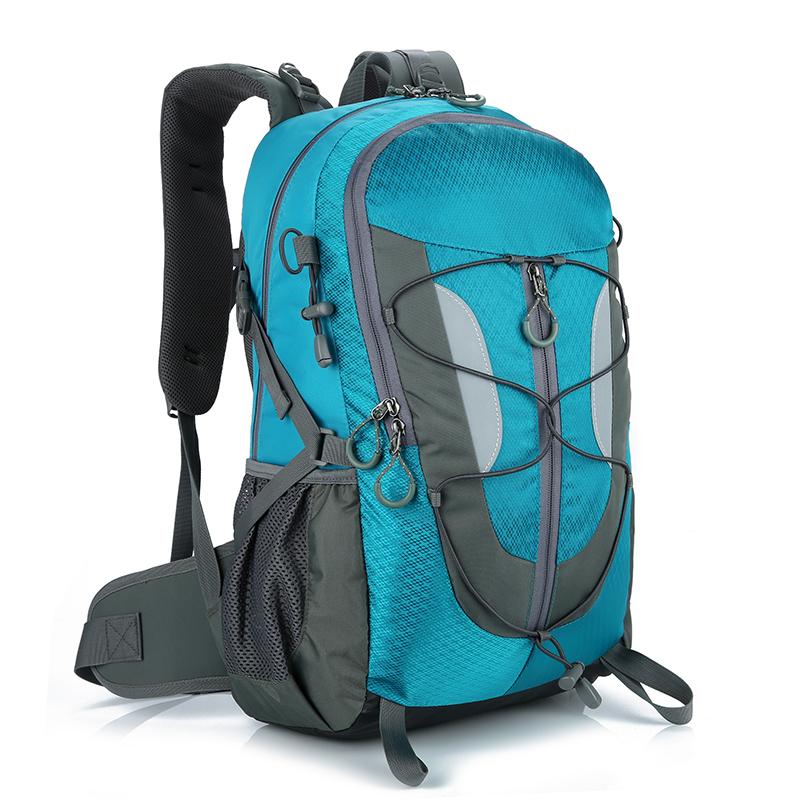 户外登山包双肩背包男 40L大容量防水轻便徒步野营旅游包女双肩包