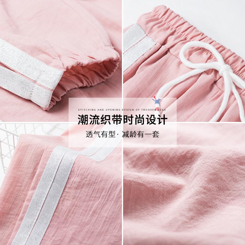 休闲运动套装夏季2020新款夏装初中学生时尚女生韩版宽松两件套年