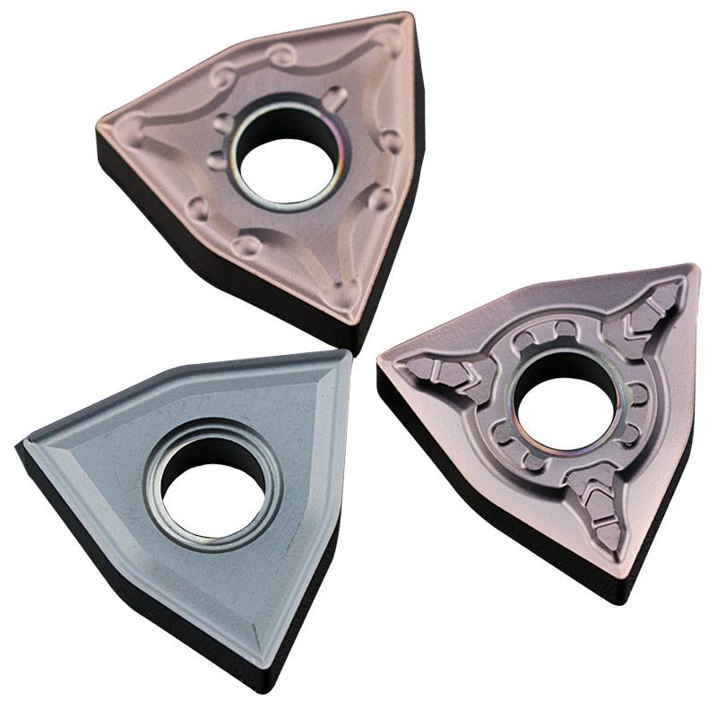 数控刀片 不锈钢专用WNMG080404/08-MA机夹车刀刀粒 外圆桃形刀头