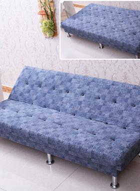 可折叠沙发小户型出租房懒人客厅双人沙发床两用简约现代卧室布艺