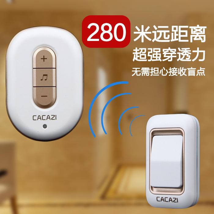 呼叫器 门铃无线家用远距离不用电池交流一拖二拖一电子遥控门铃