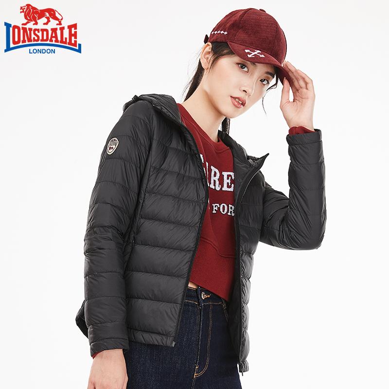 龙狮戴尔正品轻薄羽绒服女短款2018新款冬时尚韩版修身女装外套潮