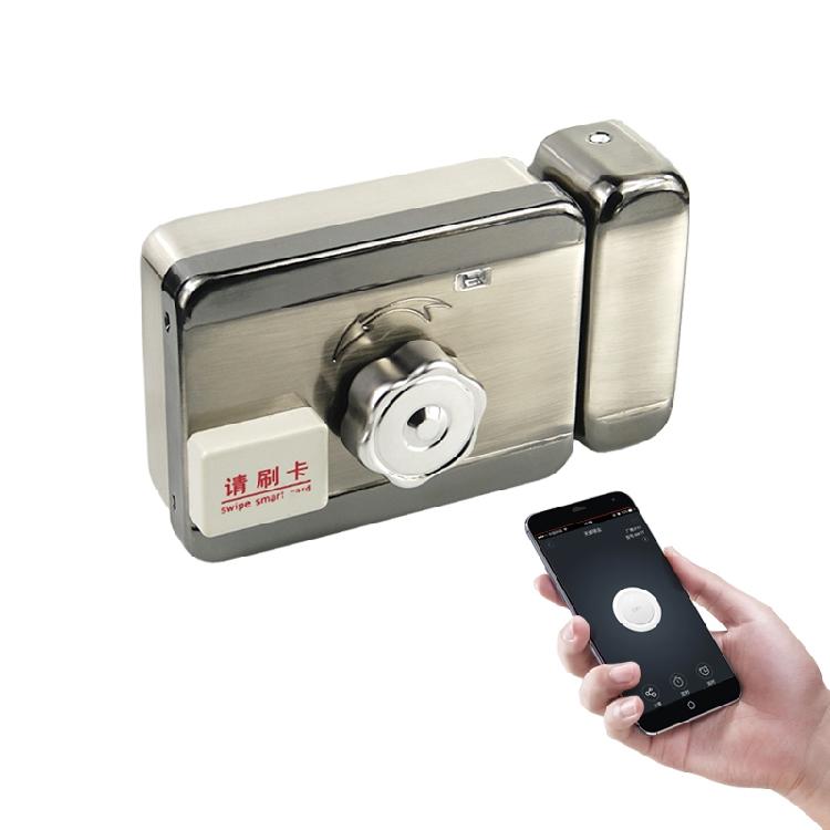 送10个id卡 刷卡锁 手机开锁 一体门禁锁 电控锁 电子门锁 125Khz