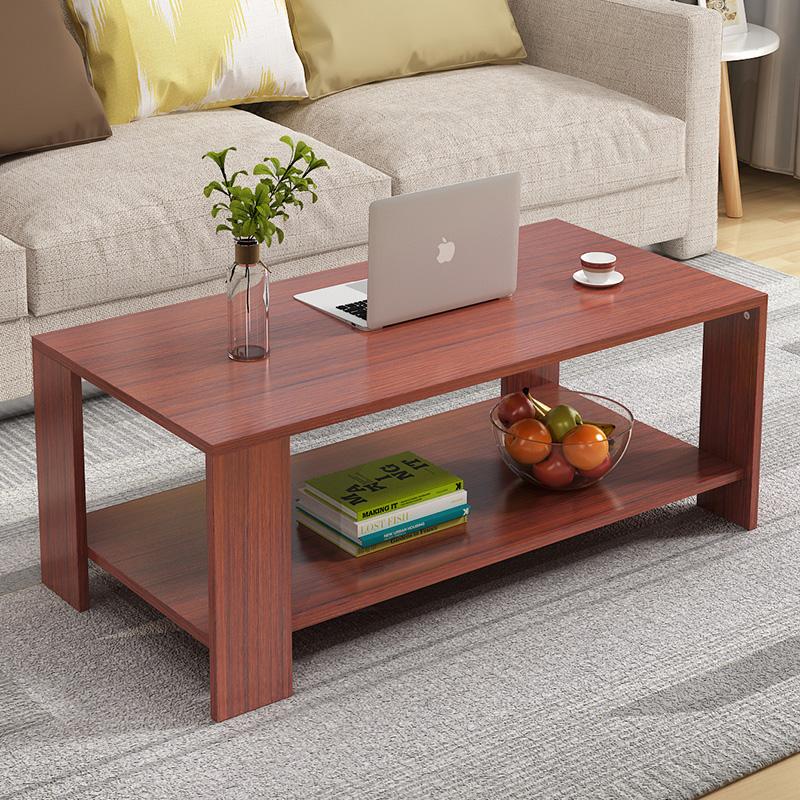 简约现代茶几客厅简易茶几特价包邮木质长方形组装小茶桌