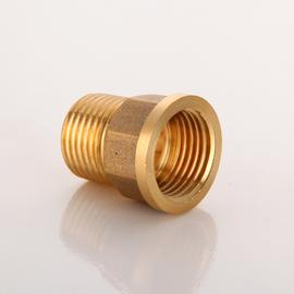 全铜加厚内外丝变径接头异径转换直接1寸转4分6分水管配件大小头