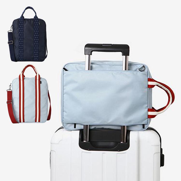 可摺疊旅行袋 超大容量手提收納袋 旅遊行李包 短途可套拉桿輕便