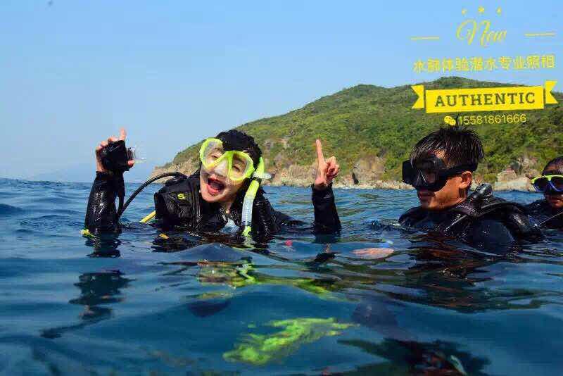 米 12 体验深潜 体验潜水 1 对 1 越南富国岛五星潜水中心专业