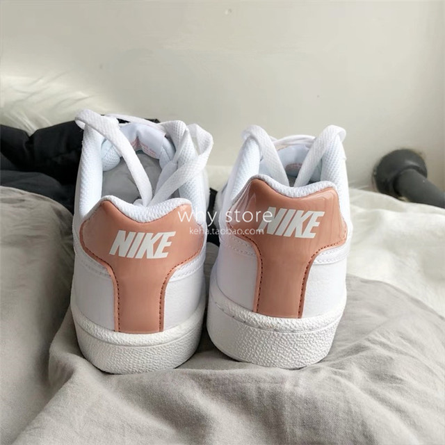 Nike Court Royale pure white rose gold
