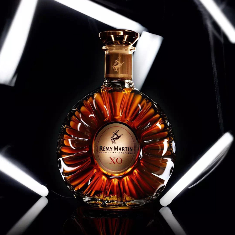 洋酒 XO 法国原装进口 700ml 优质香槟区干邑白兰地 XO 人头马