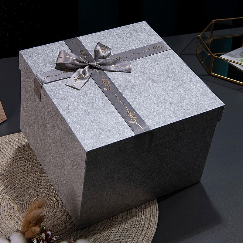 仪式感ins风网红大号礼盒包装盒生日送女友男生款礼物盒礼品盒子