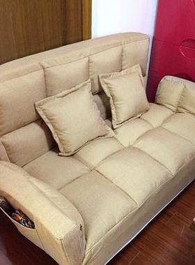 懒人沙发卧室小沙发小户型双人榻榻米网红宿舍简易折叠单人沙发床