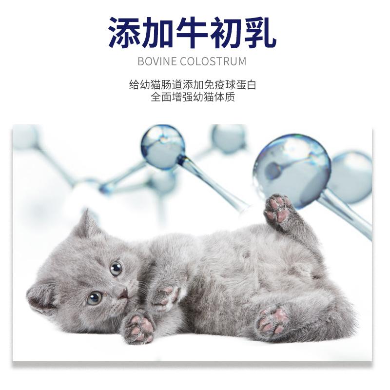 买1送1小猫猫粮猫崽幼猫1-4月奶猫增肥发腮奶糕幼猫粮1-12月共5斤优惠券