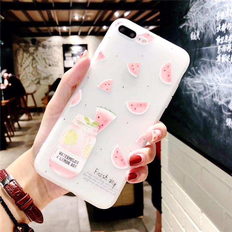 夏天西瓜oppor15手机壳r11plus硅胶套 r11s全包软壳r9女款r9s潮牌