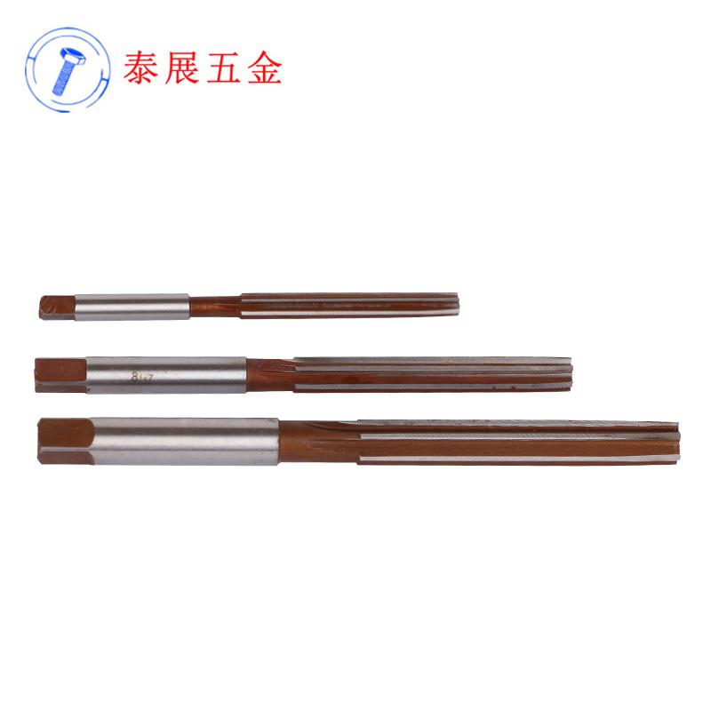 上海仓14H7-30H7直柄手用铰刀合工钢绞刀手用捻把直槽手用铰刀